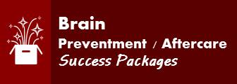 Brain Preventment/Aftercare Success Packages